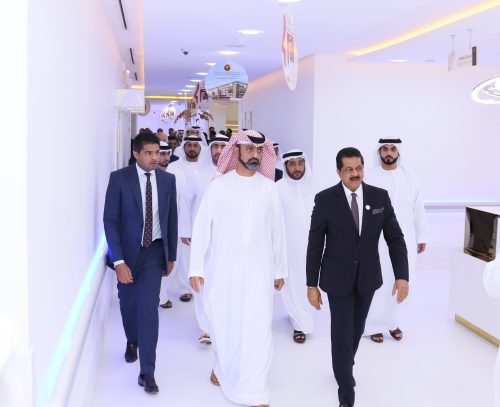 His Highness Sheikh Ammar bin Humaid Al Nuaimi Inaugurates Thumbay University Hospital at Thumbay Medicity Ajman